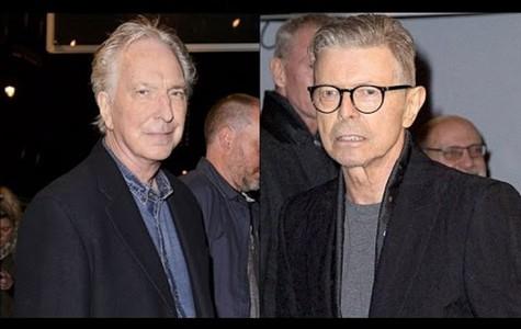 Remembering Alan Rickman and David Bowie