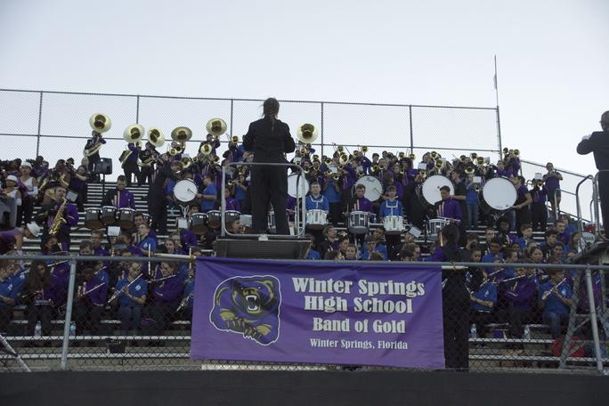 WSHS Band of Gold is Going to London