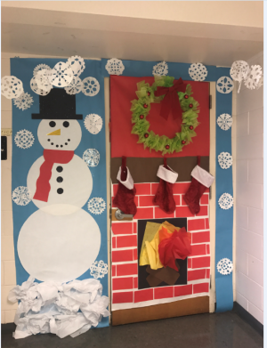 As For The Runner Ups Mrs Hart Had A How Grinch Stole Christmas Themed Door While Lorde Charlie Brown Theme