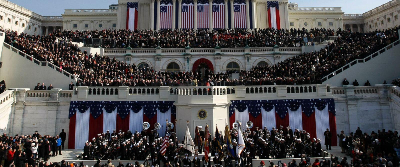 Donald J. Trump has been sworn in as 45th President, and will begin his  presidential term.