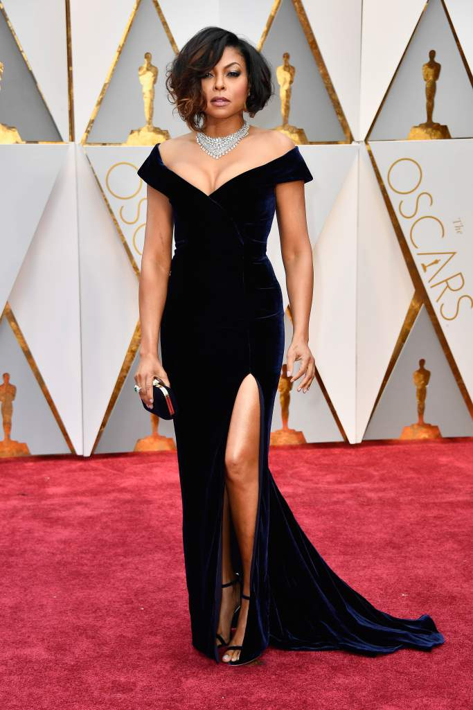 Taraji P. Henson, an actress in the nominated movie, Hidden Figures, was named best dressed.