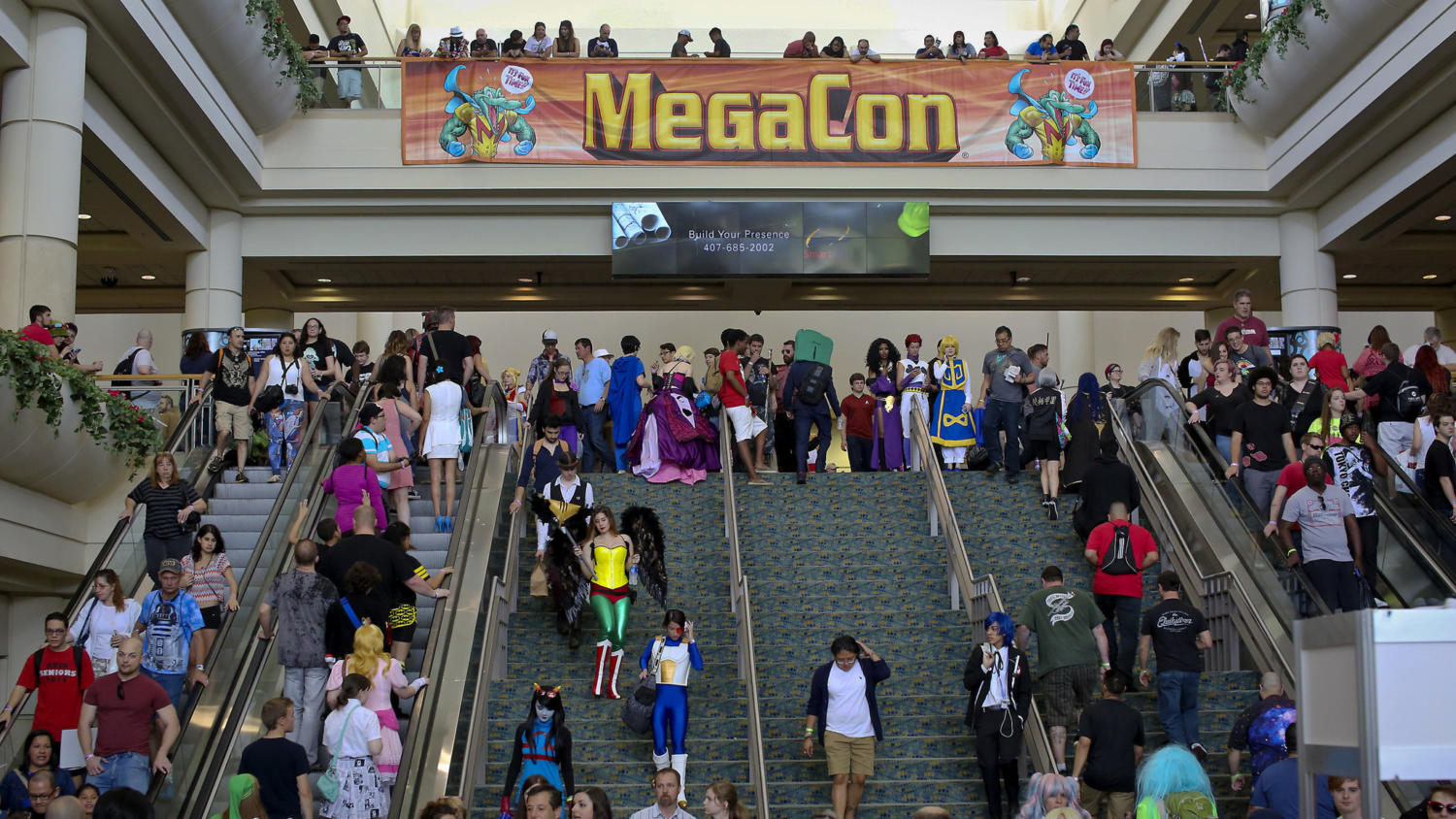 Megacon will be arriving to the Orange County Convention Center on May 25th and will end on May 28th.