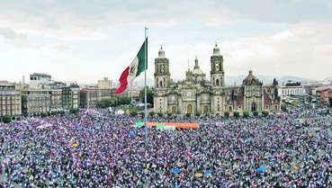 Civilian Protests Disrupt Mexico