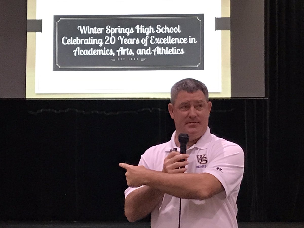 Mr.+Gaffney+prepares+teachers+and+staff+for+the+new+school+new+year.