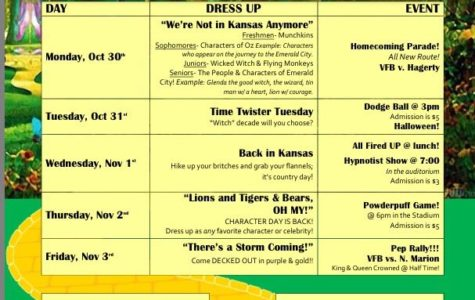 Homecoming Week is Coming Up!