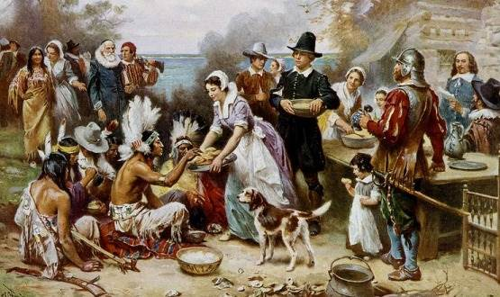 Thanksgiving celebrates the modern, American society.