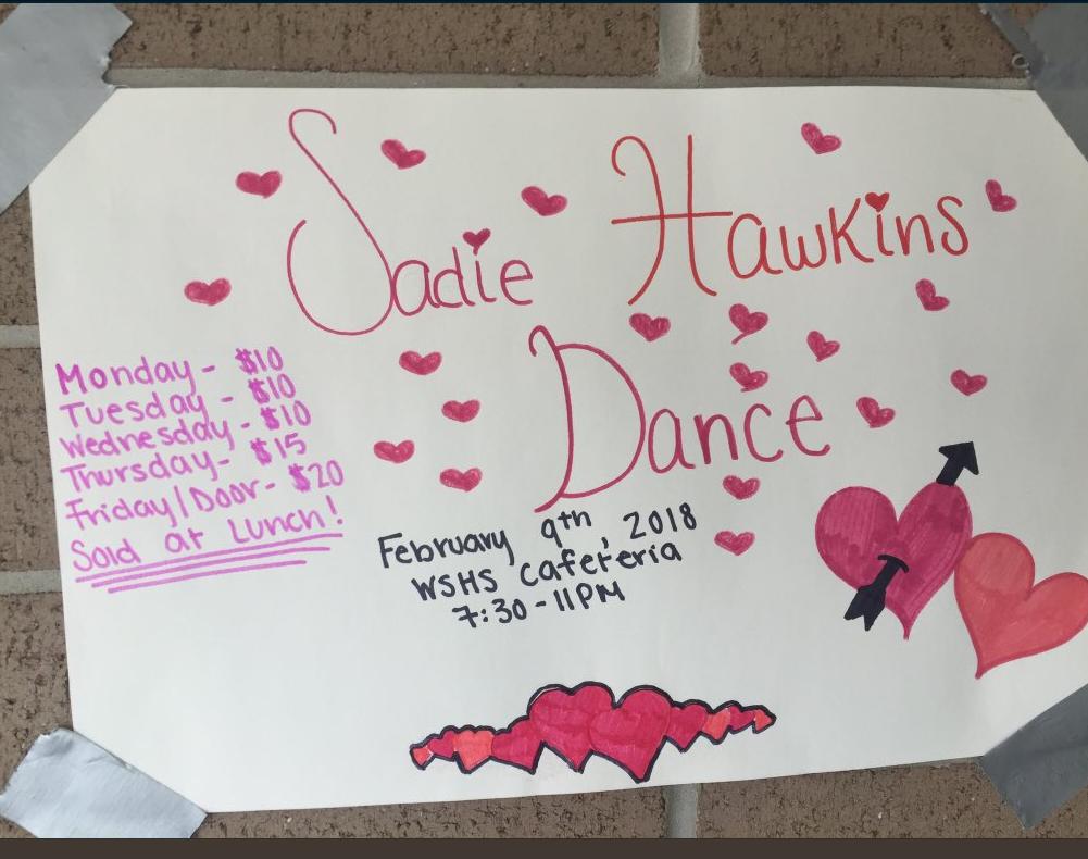 The Sadie Hawkins Dance is coming up!