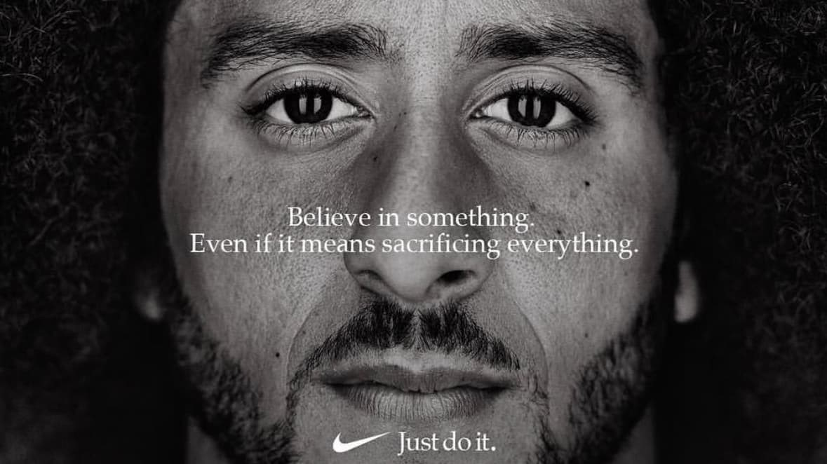 """Images courtesy of Nike """"Just Do It"""" campaign and Sean Clancy twitter, @sclancy79"""