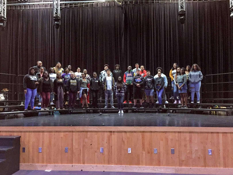 Gospel+Choir+students+practicing+for+Gospel+Extravaganza.+
