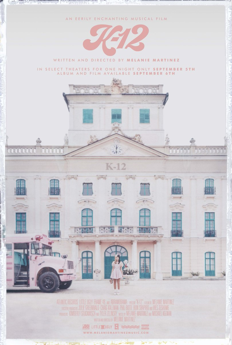 K-12 is not just an album but is also a world-wide, feature film that incorporates the songs into a complete storyline.