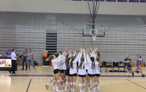 Volleyball dominates the Regional Quarter Finals