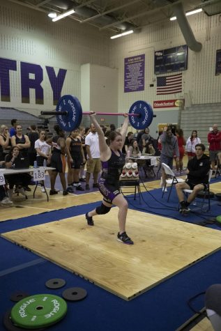 Girls Weightlifting dominates at meet