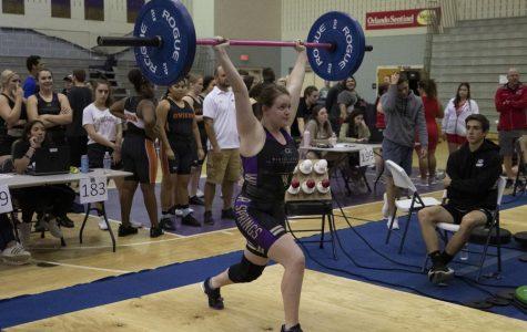 Girls Weightlifting dominates at meet
