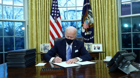 Biden signs 17 executive orders on inauguration day