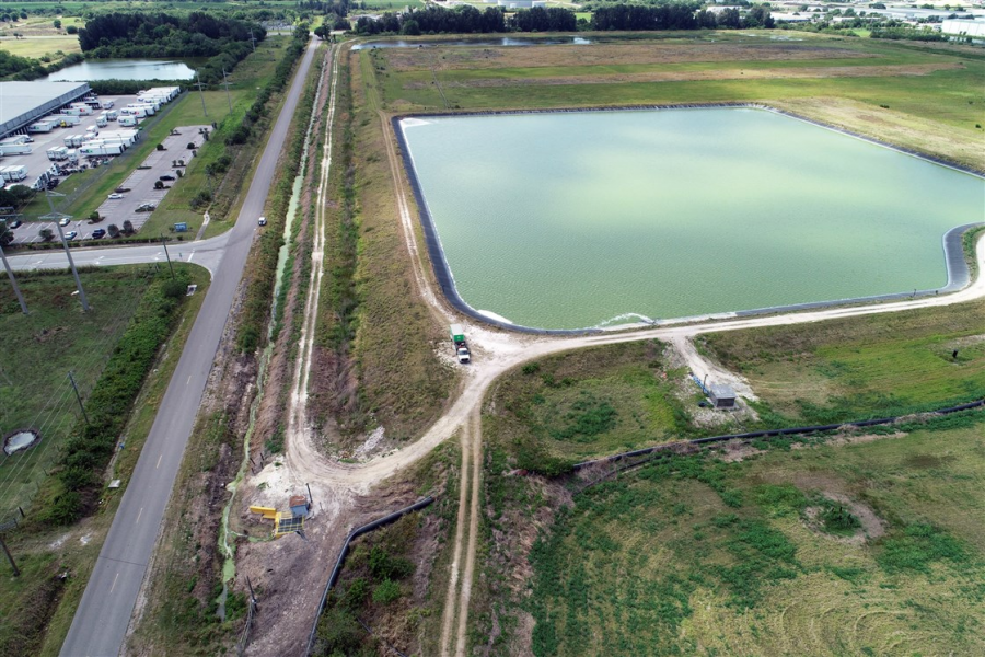 Toxic Florida wastewater collapse