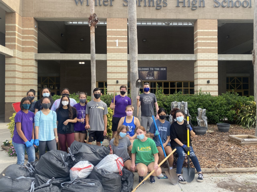 NHS Strives to accomplish various community service projects
