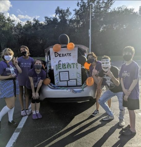 Students Debate the Day Away